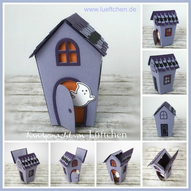 Lüftchen Stempelstudio Bergedorf, Halloween, Home Sweet Home, Cookie Cutter Halloween, Spooky Fun, Ghoulish Grunge, Stampin Up!