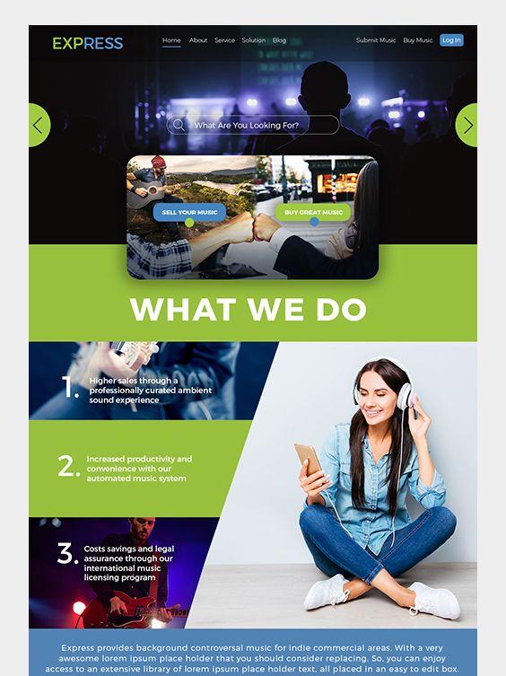 Stunning Website Templates Iamgonegirl Designs Website Template Website Template Design Beautiful Website Design