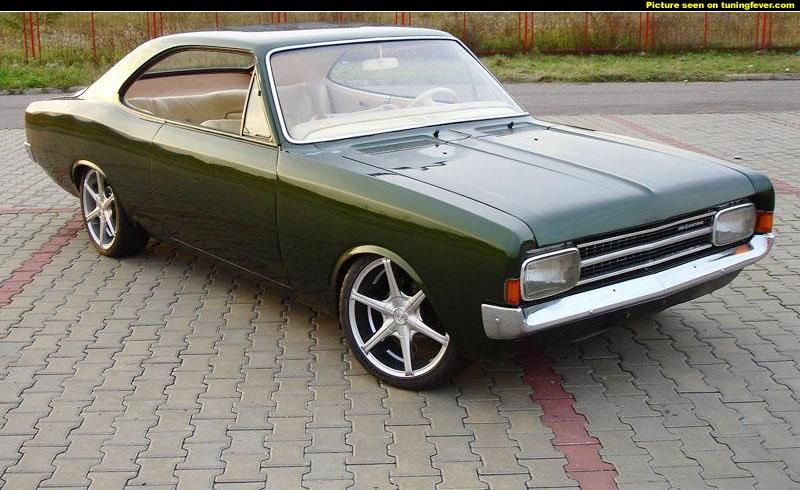 Opel Rekord C Coupe With Custom Tuning Oldtimer Autos Coole Autos Schone Autos