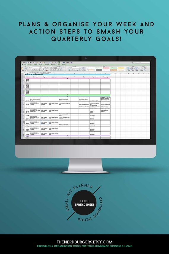 Small business planner, income tracker, productivity planner