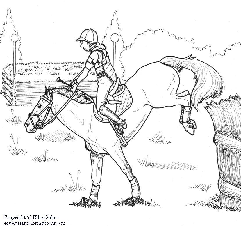 EquestrianColoringBooks Equestrian Coloring Books