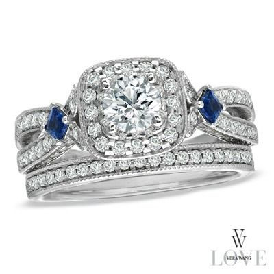 4 Engagement Rings From Vera Wang S Zales Collection All