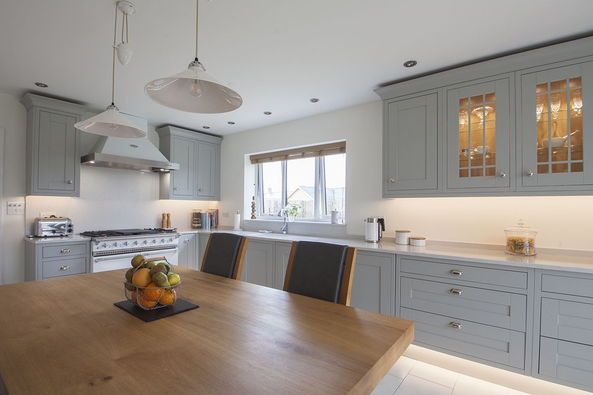 Light Grey Shaker Kitchen Design by Lorna one of our in house ...