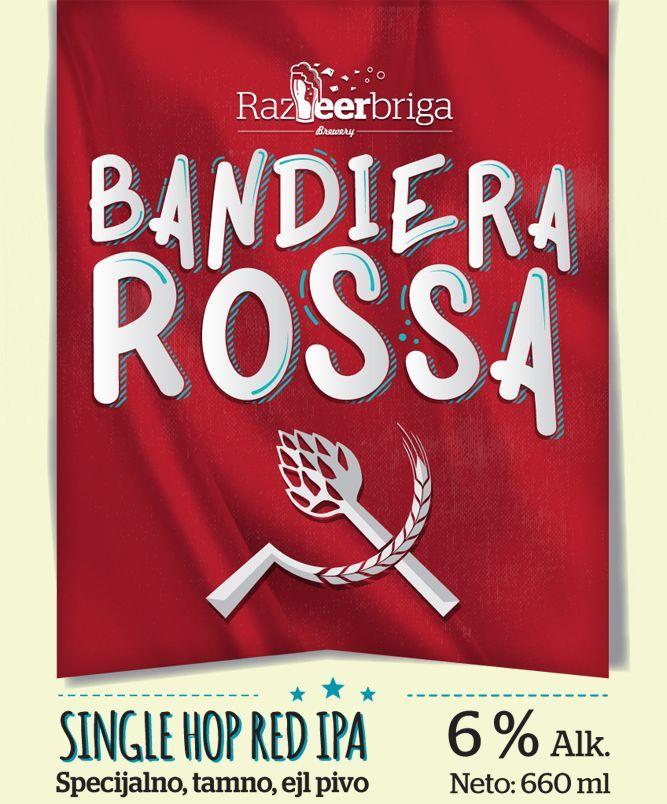 RazBeerbriga, Bandiera Rossa