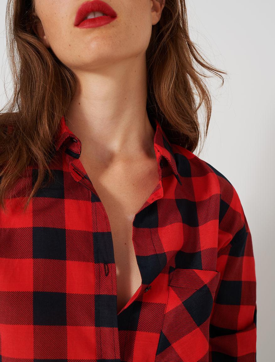 prezzo più basso 61b34 ba112 Camicia in seta, rosso | Women, Fashion, Shirts