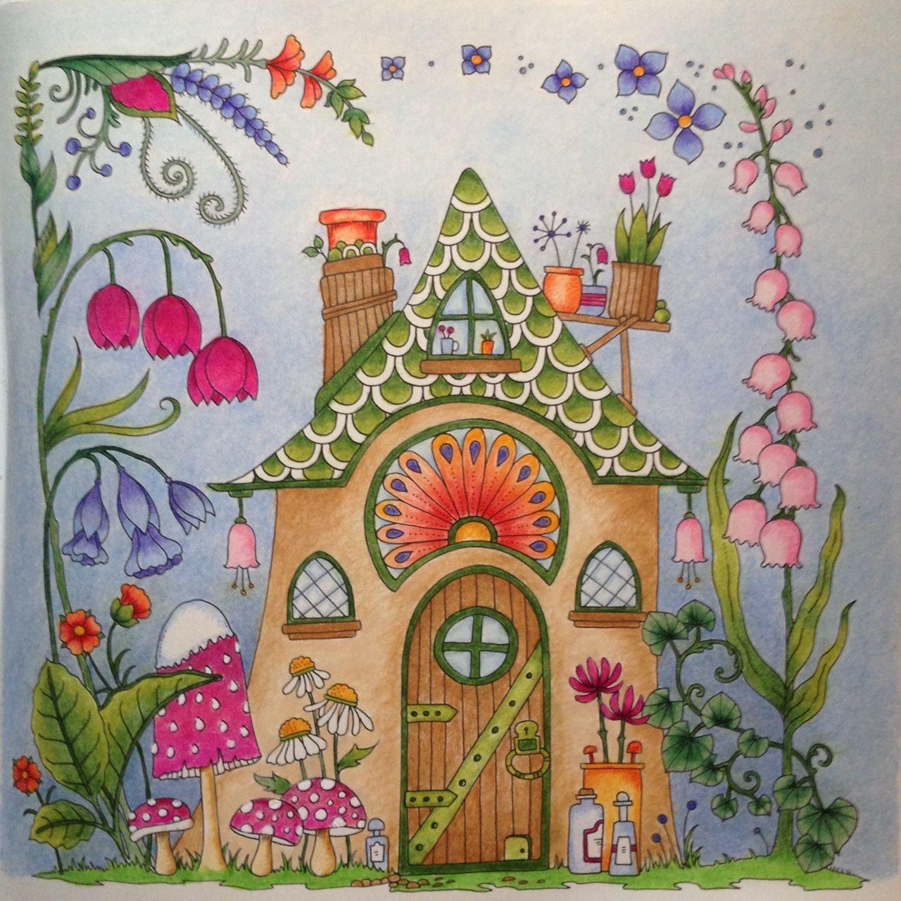 From johanna basfords world of flowers johanna basford