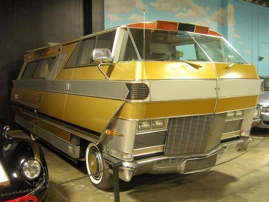 1971 Starstreak Motorhome- it's like back from the future!