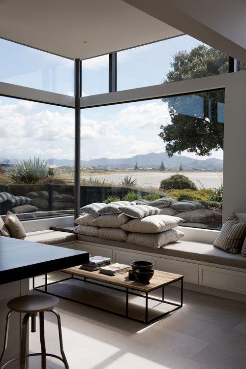 Business Design A House And Window: East Coast House, Auckland, NZ. Daniel Marshall Architect. (Georgiana Design)
