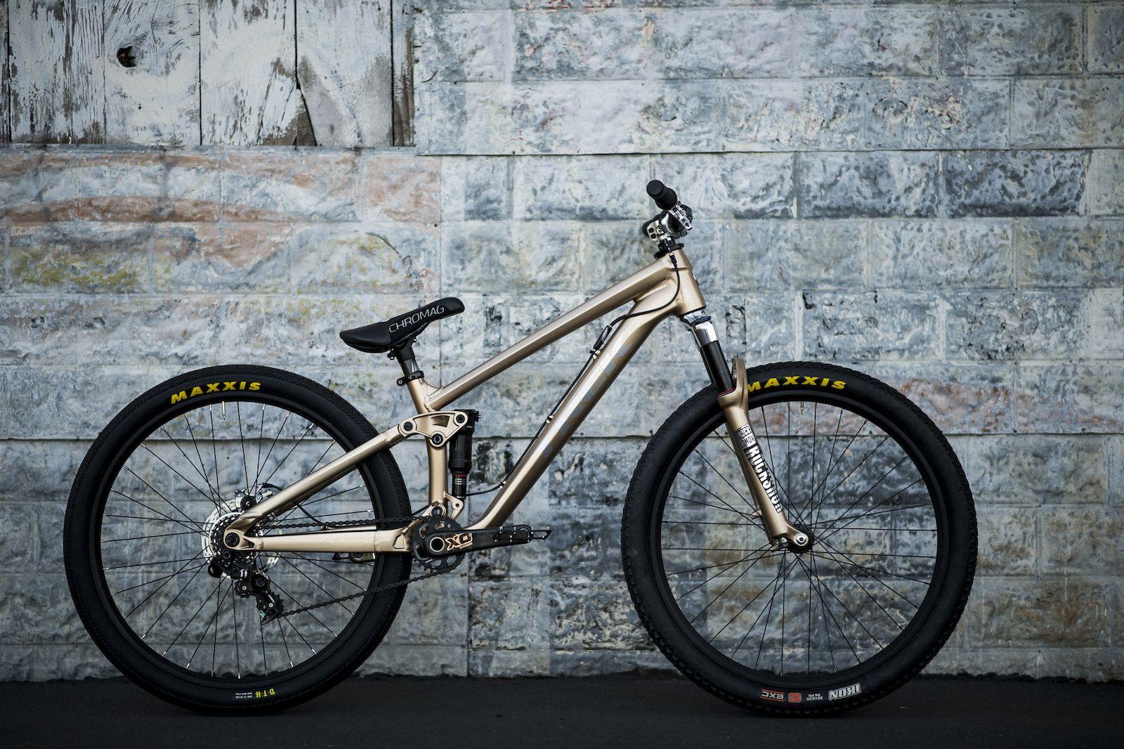Brandon Semenuk\'s 2018 Trek Ticket S - Bike Check