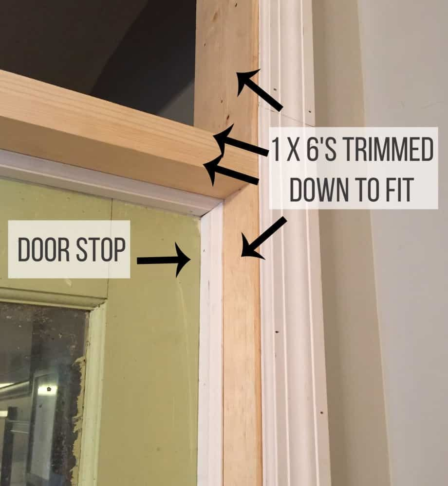 How to install french doors with a transom window part 1