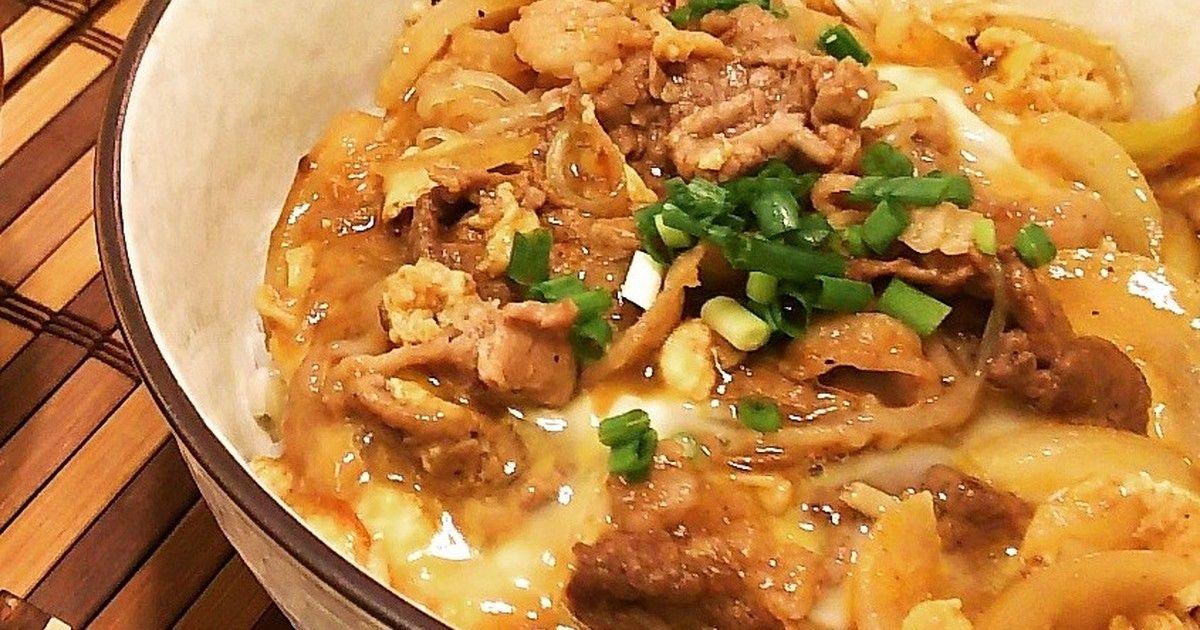丼 人気 焼肉 レシピ
