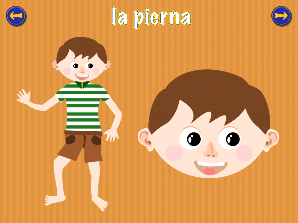 A preschool foreign language app for future global