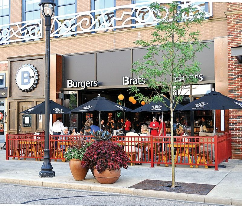 B Spot In Crocker Park Westlake Ohio Michale Symons Restaurant