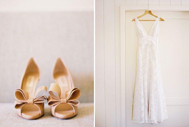 Intimate San Francisco Wedding Jo Cullen Pink Wedding Shoes