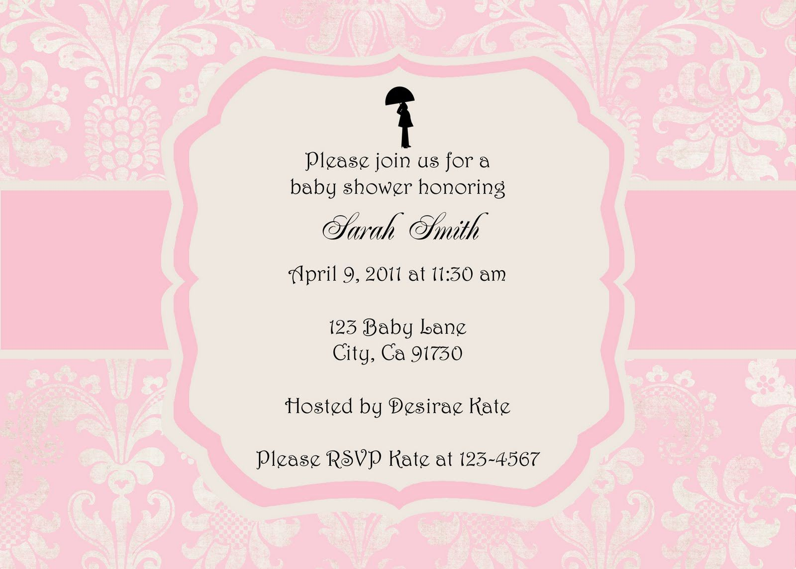 handcrafted baby shower invitations | designed beautifully | recipes ...