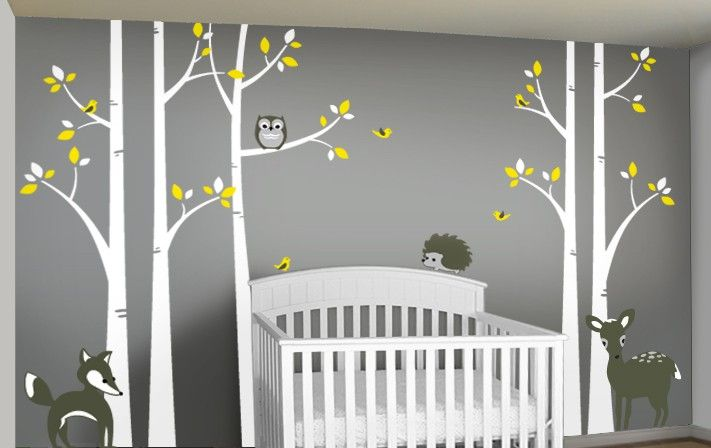 Boy Woods Themed Nursery Google Search Birch