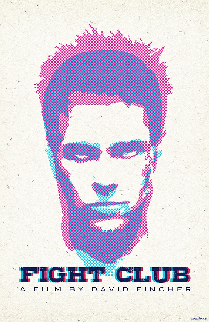 Fight Club Archives Home Of The Alternative Movie Poster Amp