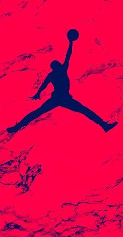 Air Jordan Red Jordan Logo Wallpaper Iphone Wallpaper Michael Jordan Art