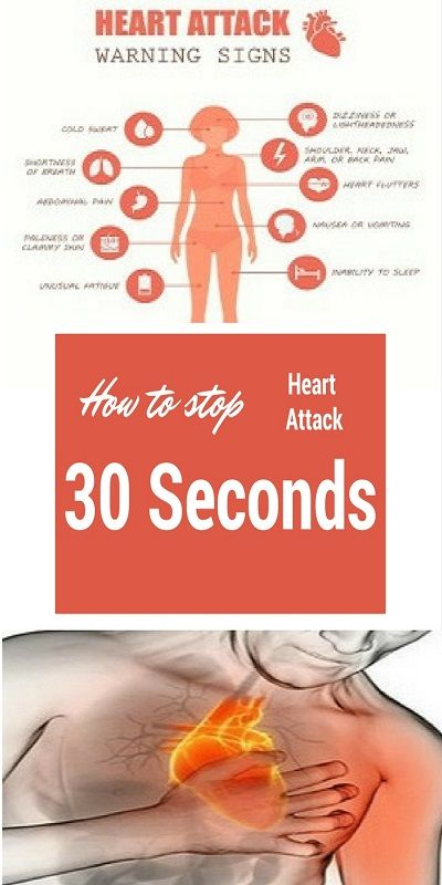 How To Stop A Heart Attack In 30 Seconds? - Useful