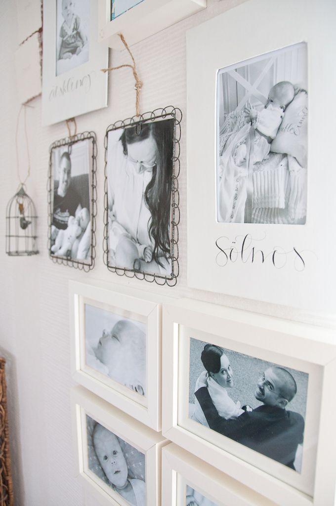 fantastische familien fotowand in schwarz wei - Fantastisch Fotowand Gestalten