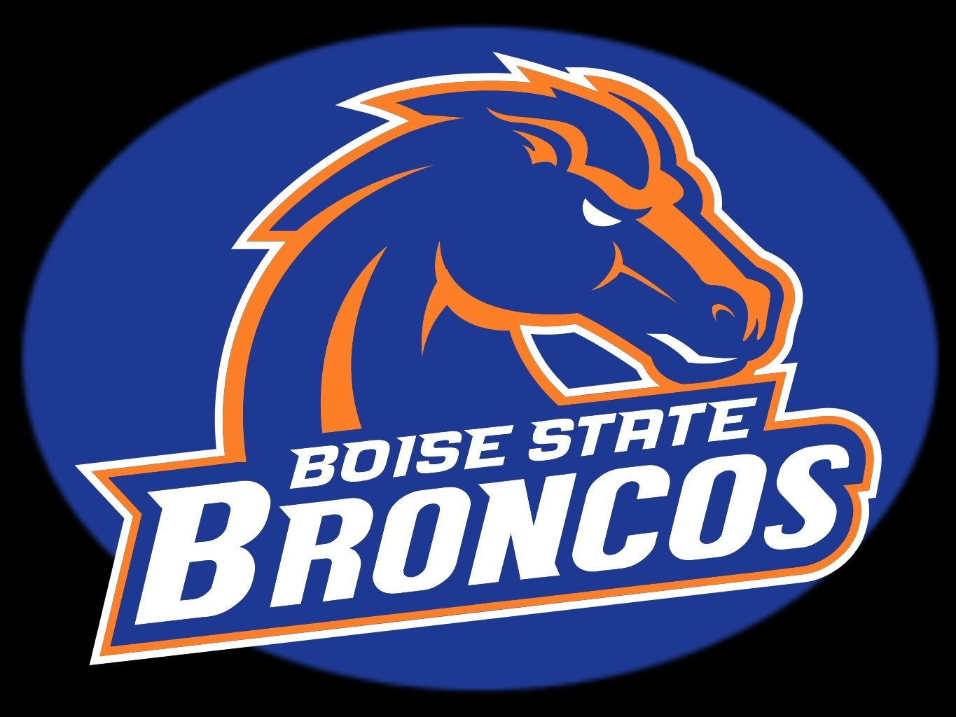 The Official Logo Of Bsu Boise State Broncos Boise State Boise State Broncos Football