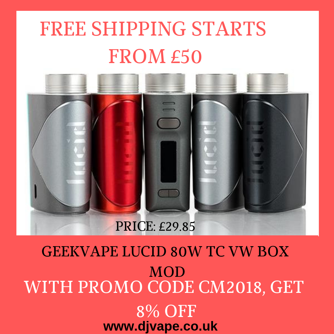 Geekvape Lucid 80w Tc Vw Box Mod Things To Sell Coding Pure
