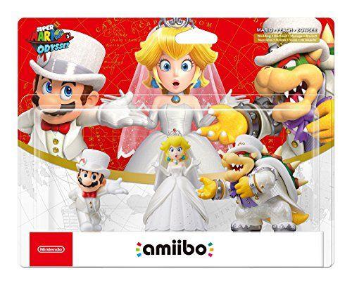 Amiibo Collection Super Mario Bowser Mario Peach Tenues