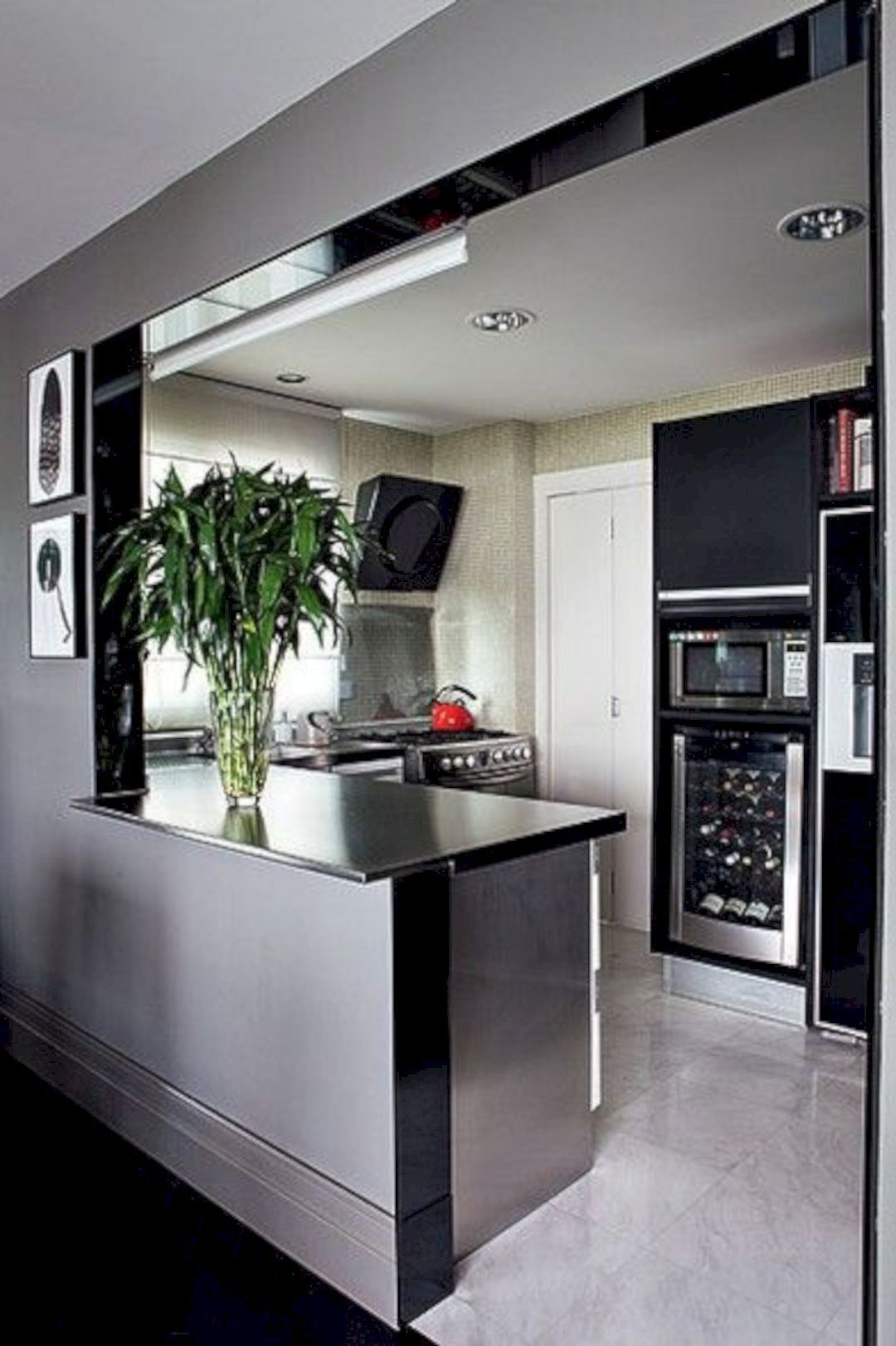 Amazing Small Kitchen Ideas For Small Space 137 Small Apartment