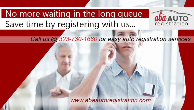 Auto registration services in los angeles http