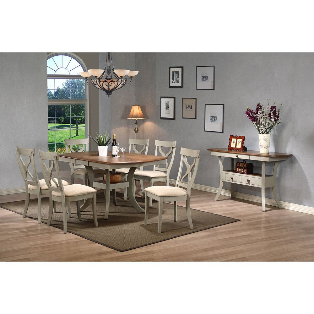 white dining table shabby chic country. Baxton Studio Balmoral Shabby Elegance Country Cottage Antique Oak Wood And Distressed Light Grey Dining Set With Extendable Table White Chic W