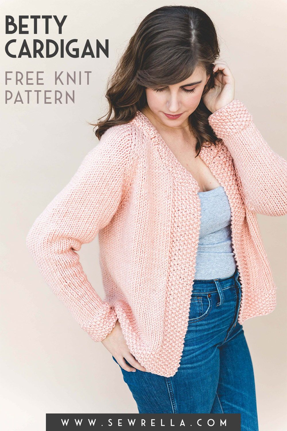 Knit Betty Cardigan in 2020 | Ladies cardigan knitting ...