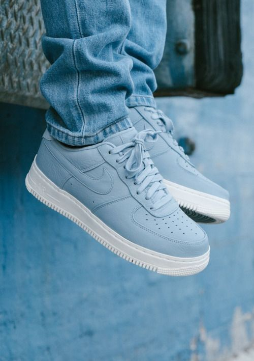 best authentic 73344 b079e Nike Air Force 1 Blue Grey Blue Grey-Sail  sneakers  airforce  aircraft   grey  blue