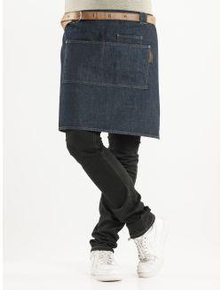 f373dbd0b0c Apron Forene Blue Denim W70-L50 | chef | How to wear, Denim, Blue denim