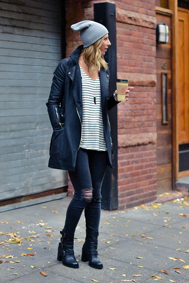 Pin for Later  11 Real Girls Who Put a Beanie on It Let your beanie hang  loose off your head for an off-duty