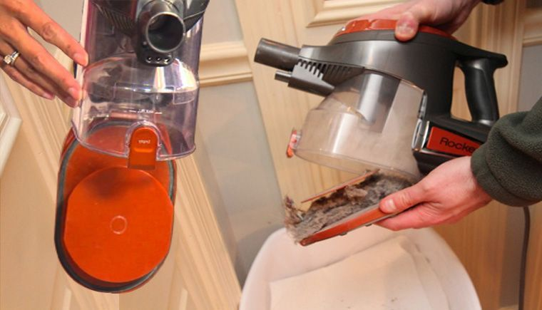 How to empty shark vacuum step by step instruction