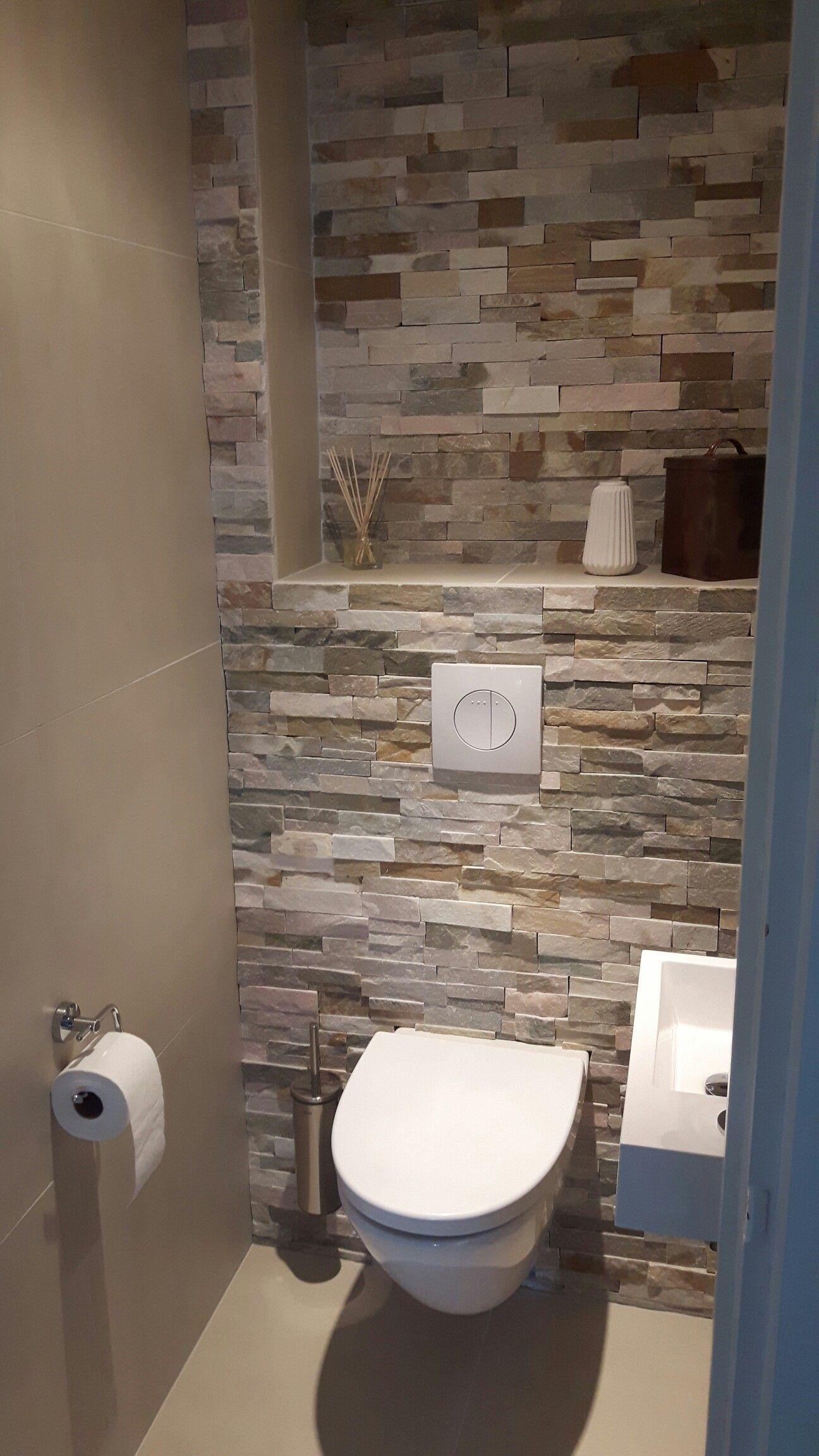 Idee Papier Peint Wc toilet weer goed gelukt | idée déco toilettes, décoration