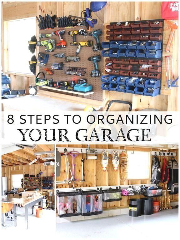 Storage in garage click the pic for various garage storage ideas garage