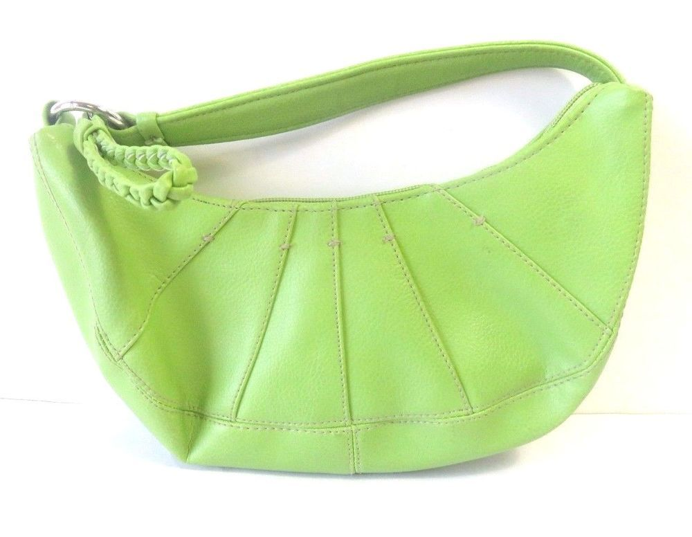 aa4387a03b Tommy Hilfiger Women's WATER MELON SUMMER Lime Green Small Hobo Purse # TommyHilfiger #Hobo