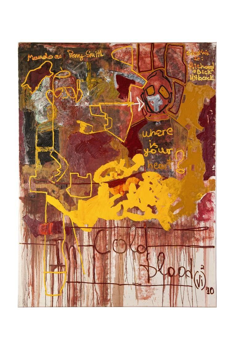"Saatchi Art Artist Vivi Panagiotou; Painting, ""In Cold Blood"" #art"