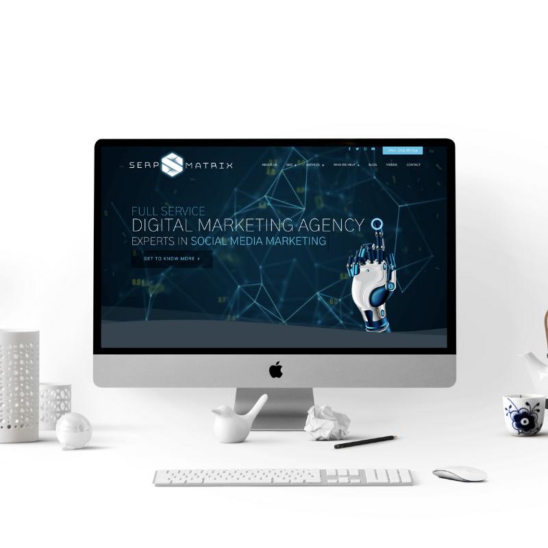 Introducing The New Serpmatrix Com Your Destination For Digital Marketing New Site New Brand Same Great S Digital Marketing Web Design Agency Web Marketing