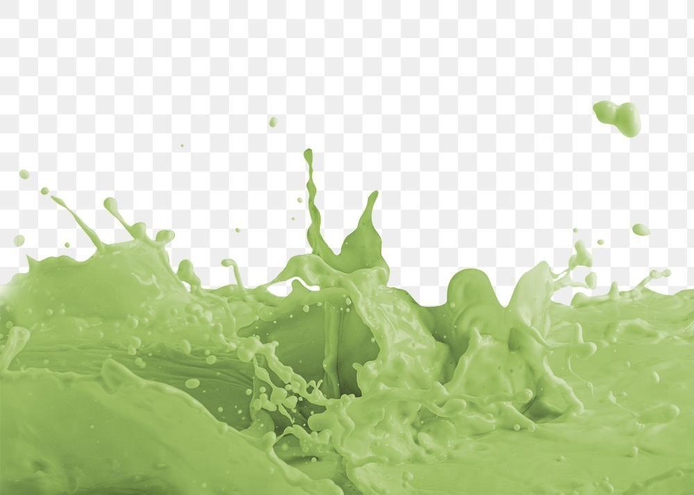 Fresh Milk Green Tea Splashing Design Element Free Image By Rawpixel Com Green Tea Cups Milk Tea Milk Splash