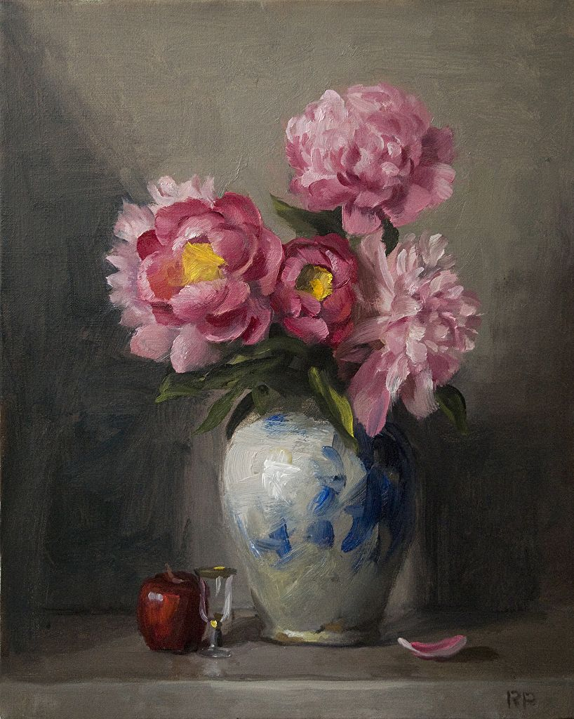 Pink Peonies by Rick Perez