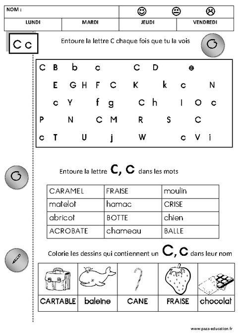 Fabuleux Cliquez pour voir la fiche N-59790   Préscolaire - Alphabet  DV88