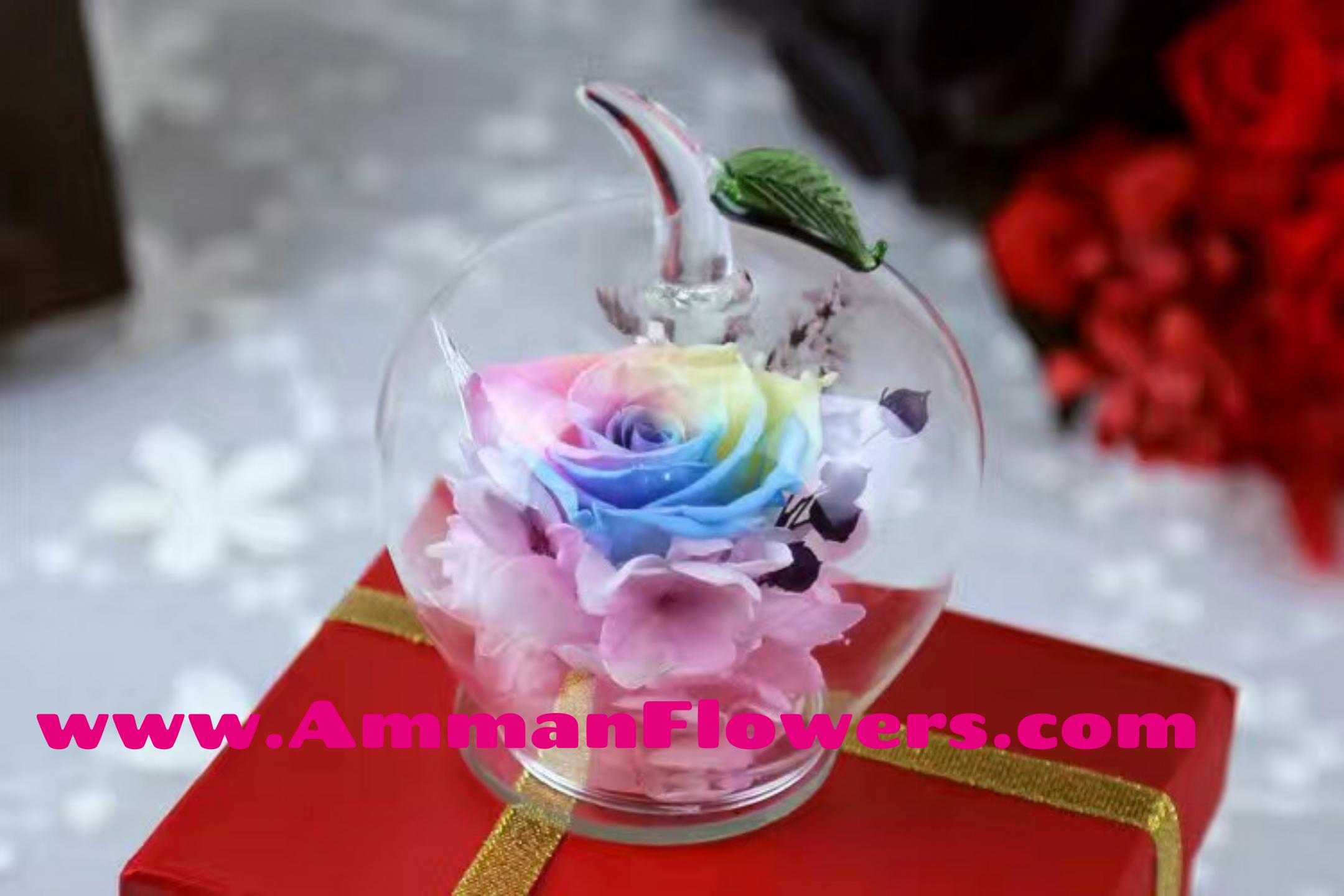 جديد 2017 ارسل أجمل الورود الطبيعية الدائمة الى الأحبة في الأردن توصيل مجاني داخل عمان لجميع مناسبات الحب والزواج و الأعراس اطلب مب Desserts Icing Food