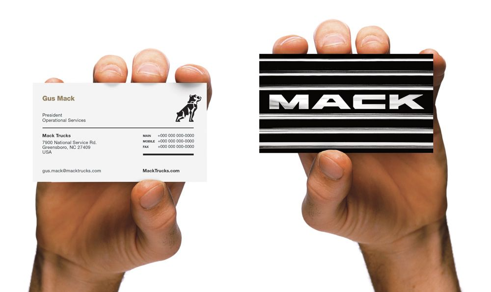 New logo and identity for mack trucks by vsa partners graphic new logo and identity for mack trucks by vsa partners reheart Image collections
