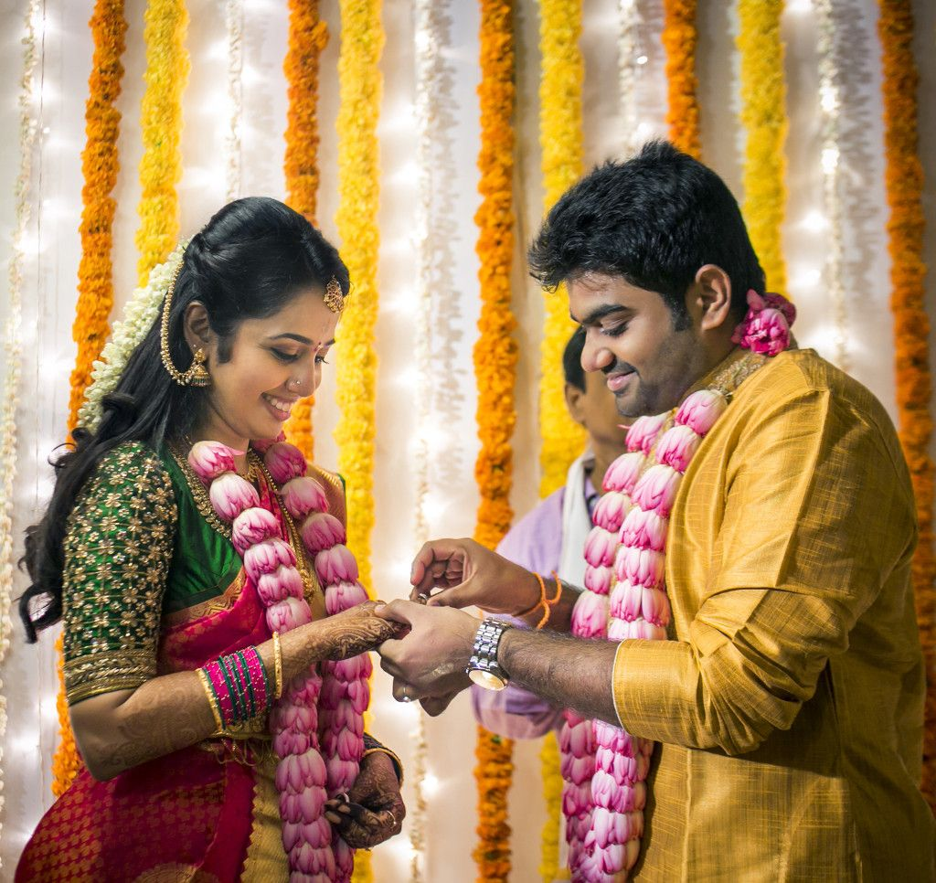 the beautiful engagement story of deepika and achu | wedding
