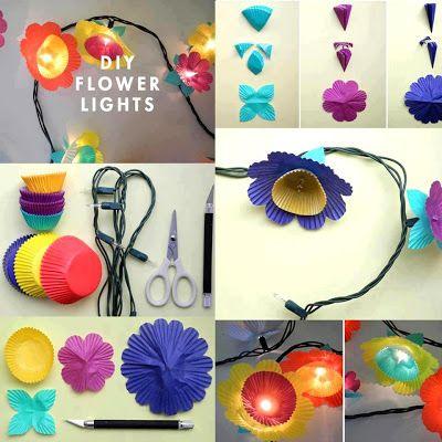 Lampu Hiasan Cute Crafts Diy Hand Arts And Paper