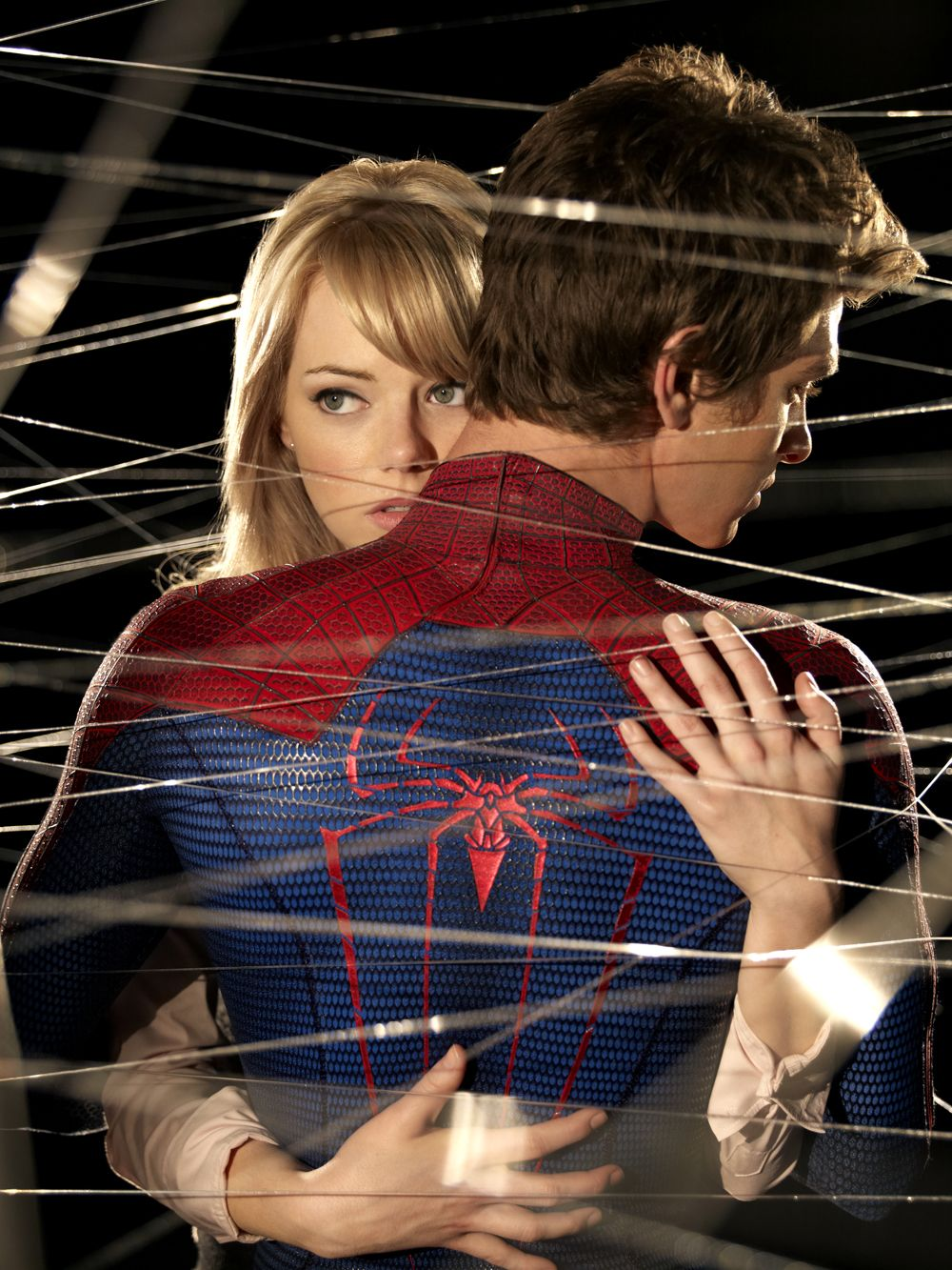 Gwen E Peter 3 Amazing Spiderman Spiderman Andrew Garfield