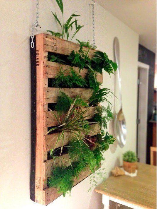 La Belleza de los Jardines Verticales Jardín vertical, Jardín y - jardineras verticales