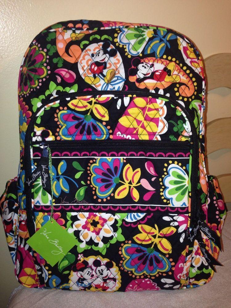 Vera Bradley Disney Parks Mickey Mouse Backpack  VeraBradley  BackpackStyle